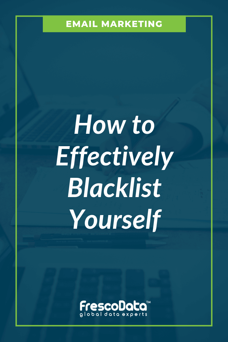Blacklisted on a Cold Email Campaign