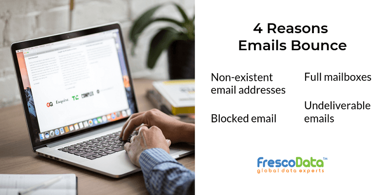 4 reasons for email bounces