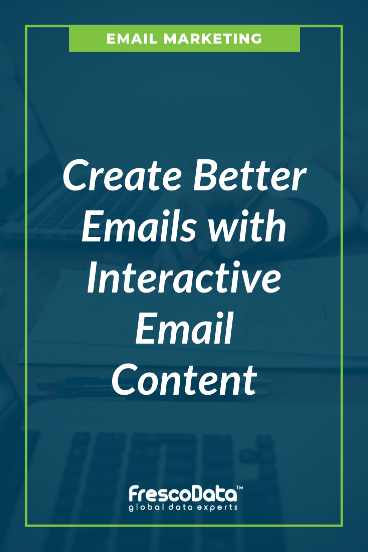Interactive Email Content